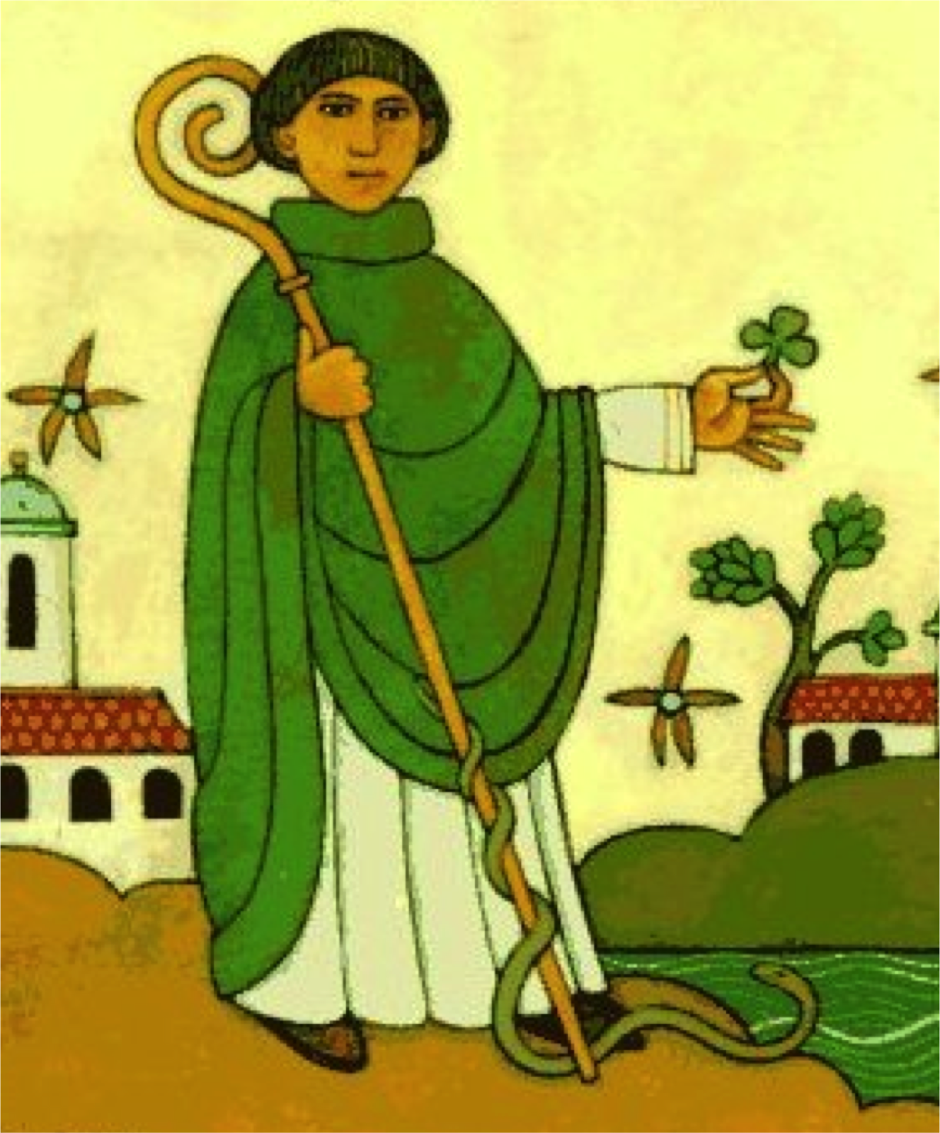 saint patrick St patrick of ireland is one of the world's most popular saints he was born in roman britain and when he was fourteen or so, he was captured by irish pirates during a raiding party and.