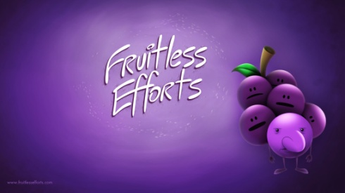 fruitless efforts grape